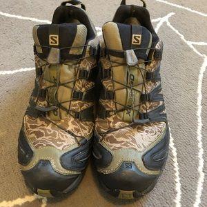 the latest 2e491 e6fb7 Salomon Shoes - Salomon XA Pro 3D Goretex Hiking Shoes Camo